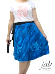 Rok 6802 Blue WoodenRose