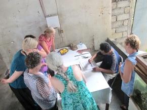 Demo Pembuatan Cap Batik Tembaga